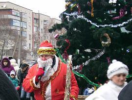 Новый год в микрорайоне Геническа