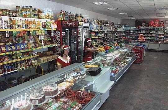 Широкий ассортимент в магазине №49 Новоалексеевского ТРО Генического райпотребсоюза
