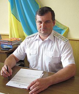 Прокурор Генического района А.Г.Медведев